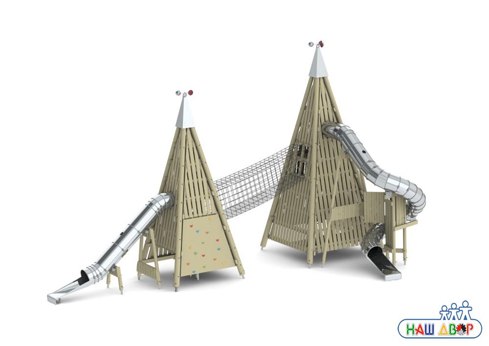 Игровой комплекс пирамида
